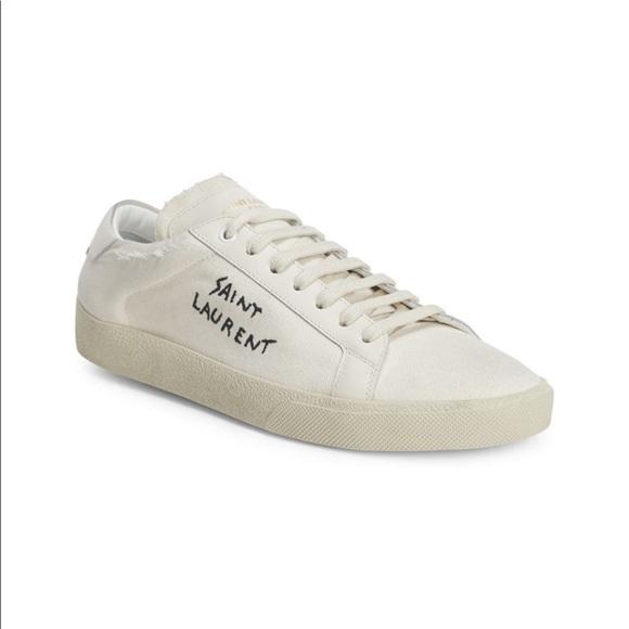 Saint Laurent Canvas Sneakers | Poshmark